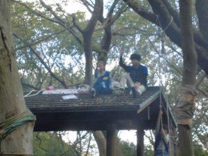 秋の遠足子どもたちの森