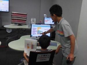 中高生が教えるプログラミング教室