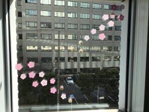 窓辺の飾り 梅