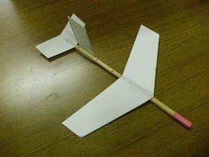 わりばし紙飛行機画像